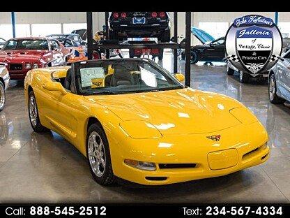 2002 Chevrolet Corvette Convertible for sale 100966965