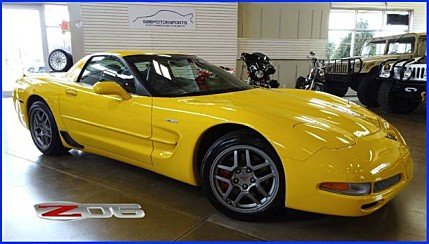 2002 Chevrolet Corvette Z06 Coupe for sale 100967785