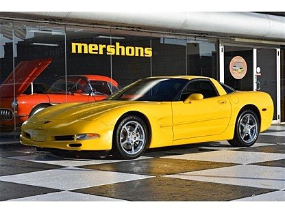 2002 Chevrolet Corvette Coupe for sale 100973432