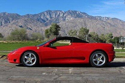 2002 Ferrari 360 Spider for sale 100835086