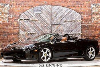2002 Ferrari 360 Spider for sale 101008662