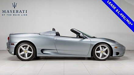 2002 Ferrari 360 Spider for sale 100858258