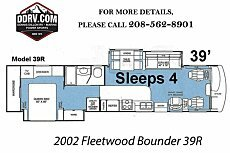 2002 Fleetwood Bounder for sale 300165113