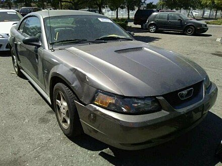 2002 Ford Mustang Coupe for sale 101010650