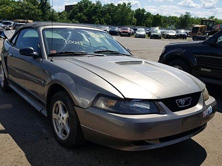2002 Ford Mustang Convertible for sale 101010716
