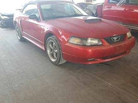 2002 Ford Mustang GT Convertible for sale 101010750