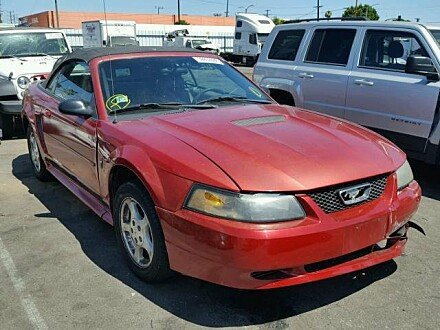 2002 Ford Mustang Convertible for sale 101010776