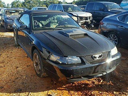 2002 Ford Mustang GT Convertible for sale 101044022