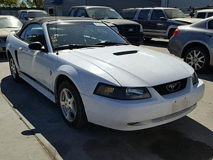 2002 Ford Mustang Convertible for sale 101044034