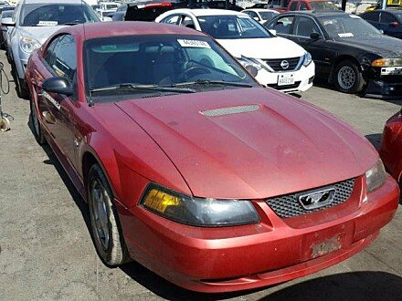 2002 Ford Mustang Coupe for sale 101044227