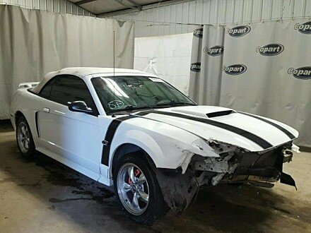 2002 Ford Mustang GT Convertible for sale 101044778