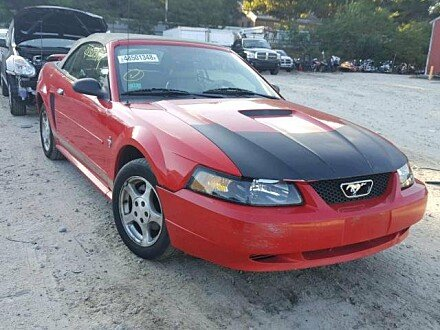 2002 Ford Mustang Convertible for sale 101045329