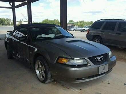2002 Ford Mustang Convertible for sale 101045413