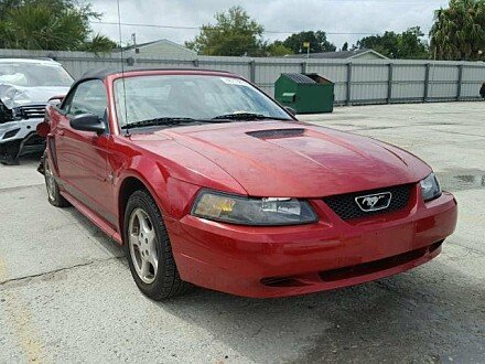2002 Ford Mustang Convertible for sale 101046547