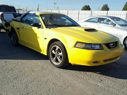 2002 Ford Mustang GT Convertible for sale 101056089