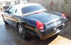 2002 Ford Thunderbird for sale 100291631