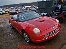 2002 Ford Thunderbird for sale 100749535