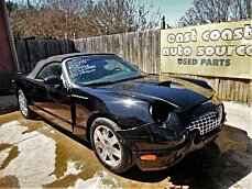 2002 Ford Thunderbird for sale 100749727