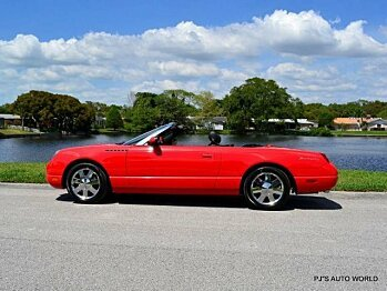 2002 Ford Thunderbird for sale 100753765