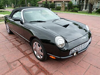 2002 Ford Thunderbird for sale 100768516