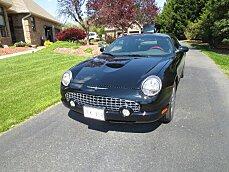 2002 Ford Thunderbird for sale 100771540