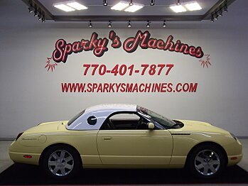 2002 Ford Thunderbird for sale 100784745