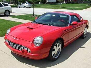 2002 Ford Thunderbird for sale 100805898