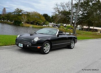 2002 Ford Thunderbird for sale 100844459