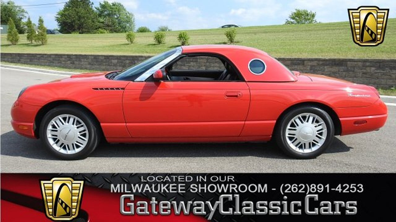 2002 Ford Thunderbird for sale 100881765