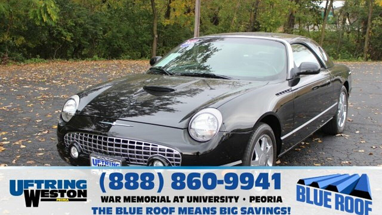 2002 Ford Thunderbird for sale 100912329