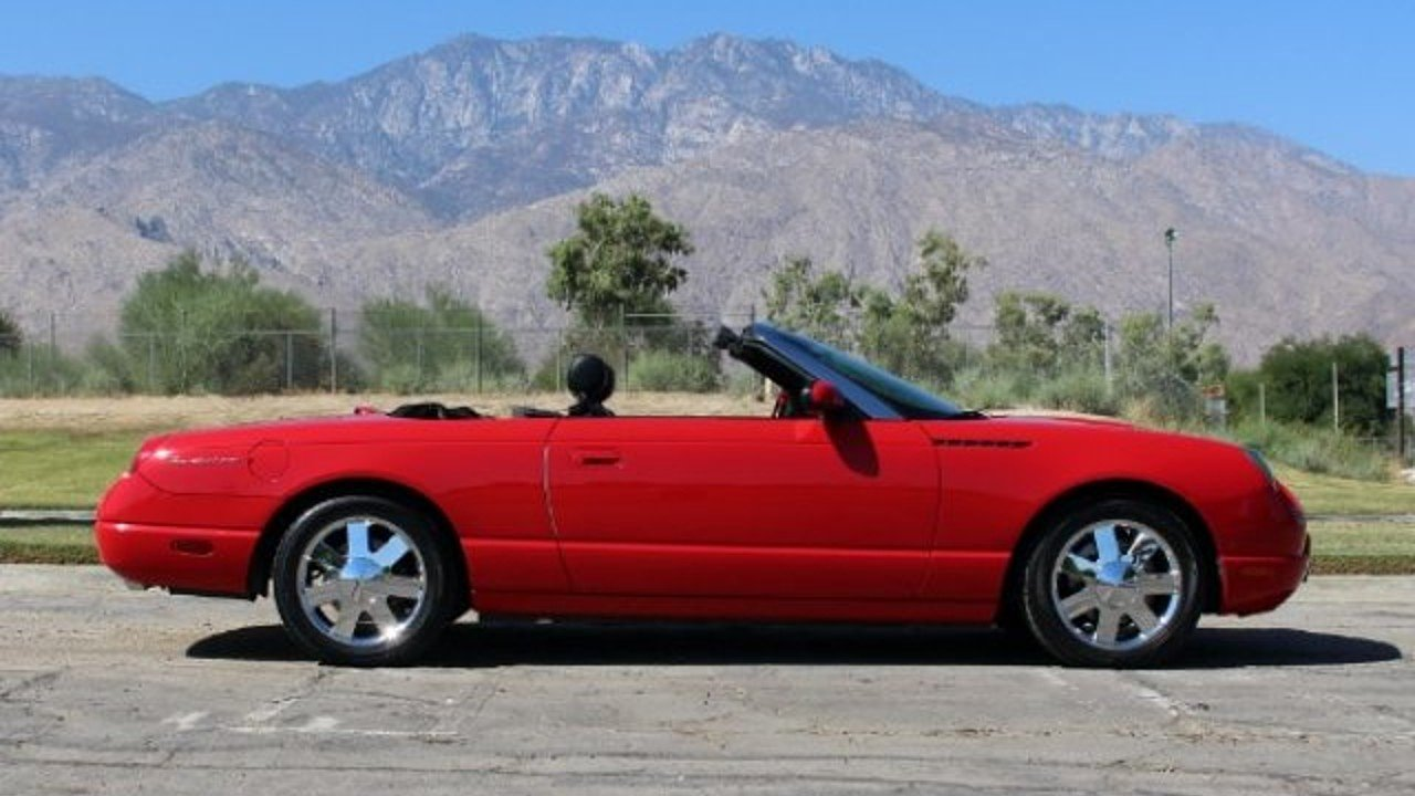 2002 Ford Thunderbird for sale 100914224