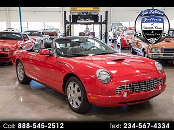2002 Ford Thunderbird for sale 100915509