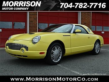 2002 Ford Thunderbird for sale 100955189