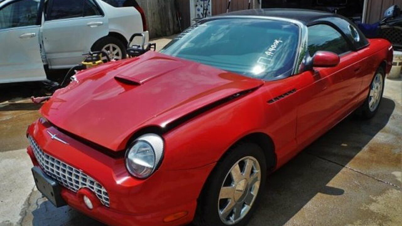 2002 Ford Thunderbird for sale 100982772