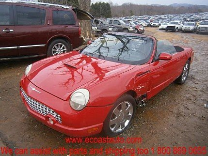 2002 Ford Thunderbird for sale 100292852