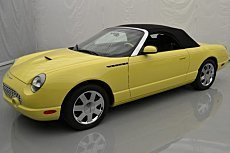 2002 Ford Thunderbird for sale 100835907