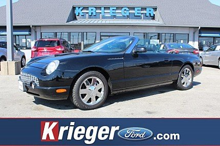 2002 Ford Thunderbird for sale 100951130