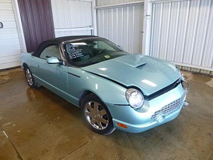 2002 Ford Thunderbird for sale 100954769