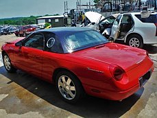 2002 Ford Thunderbird for sale 100972979