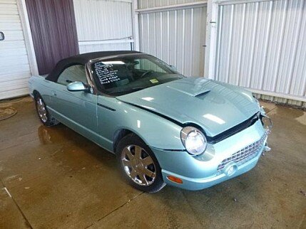 2002 Ford Thunderbird for sale 100973075