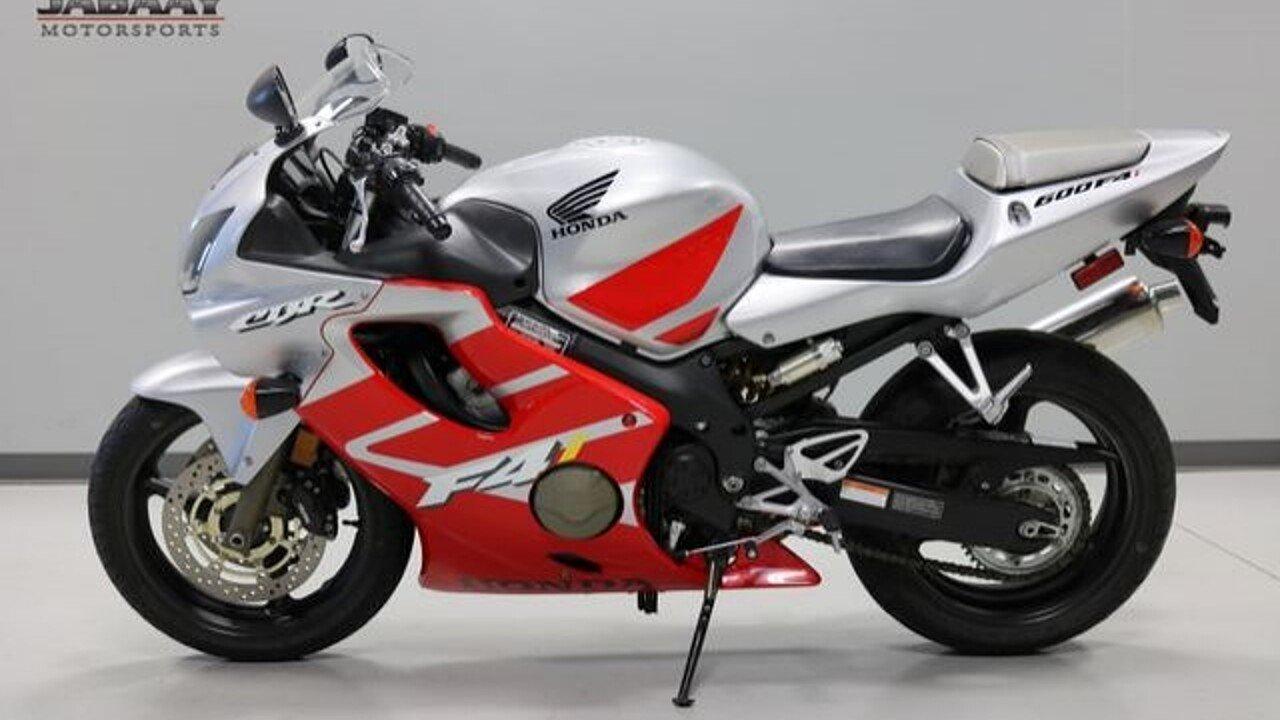 2002 Honda CBR600F for sale 200642865