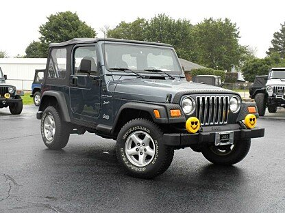 2002 Jeep Wrangler for sale 100727637