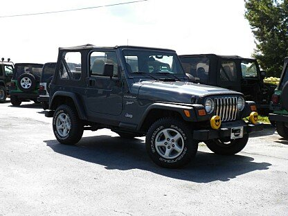2002 Jeep Wrangler for sale 100761045