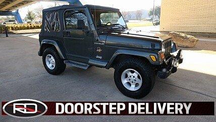 2002 Jeep Wrangler 4WD Sahara for sale 100943363