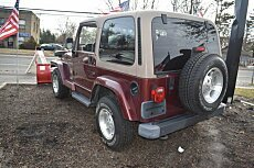 2002 Jeep Wrangler 4WD Sahara for sale 100952737