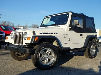 2002 Jeep Wrangler 4WD Sport for sale 100974660
