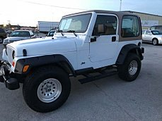 2002 Jeep Wrangler 4WD Sport for sale 100998783