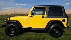 2002 Jeep Wrangler 4WD X for sale 101031998