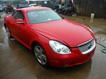 2002 Lexus SC 430 Convertible for sale 100291841
