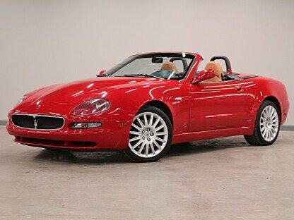 2002 Maserati Spyder for sale 100975881